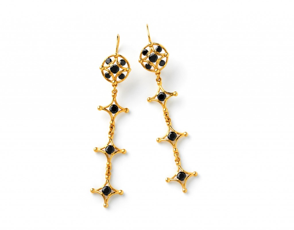 4014y Long Samsara Earrings