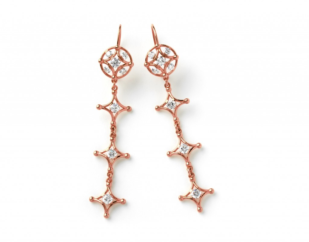 4015r Long Samsara Earrings