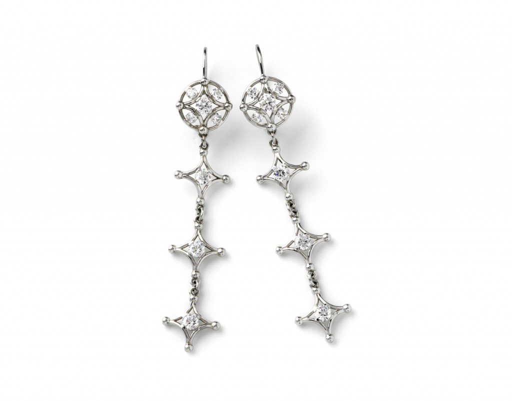 4015w Long Samsara Earrings