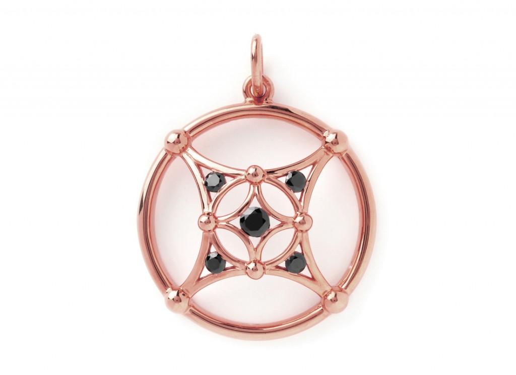 4007r Masculine Samsara Pendant – Rosa