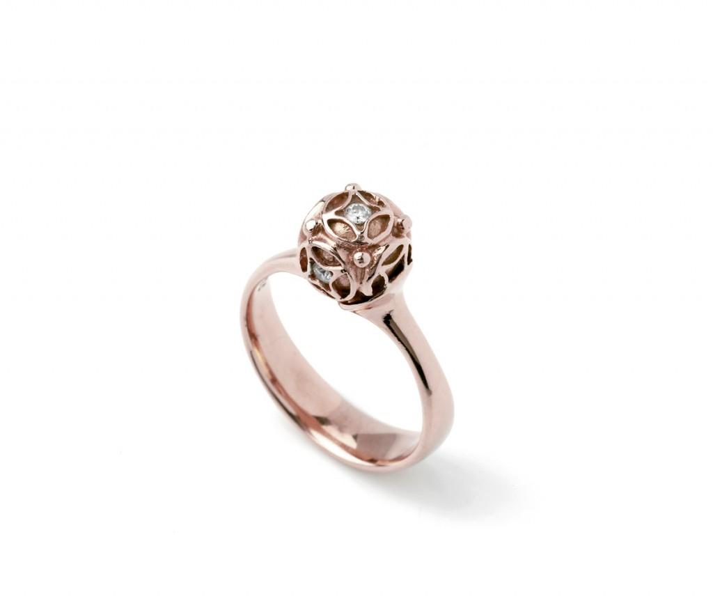 9014r-9016r Mandala Ring – Rosa