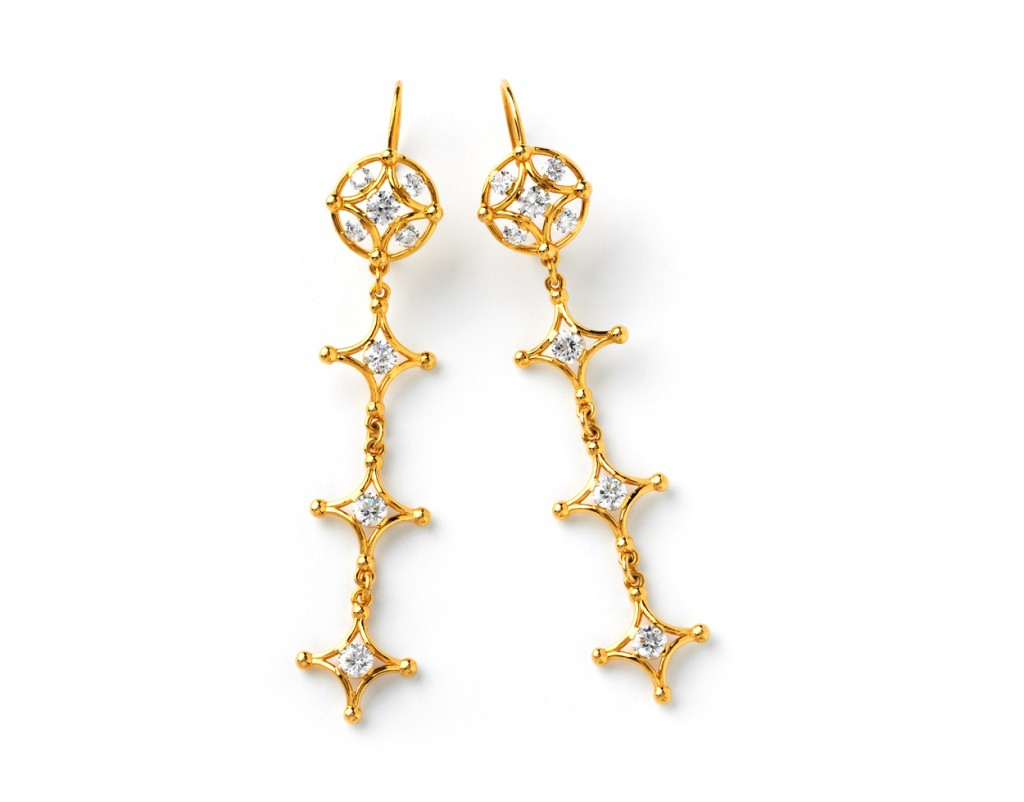 4015y Long Samsara Earrings